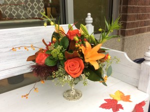 Thanksgiving Centerpiece by Texas Blooms