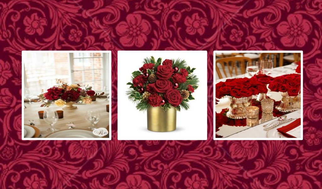 Popular holiday flowers