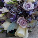 Dusky Lavenders Bridal Bouquet | Wedding Flowers