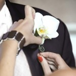 White Boutonniere | Wedding Flowers