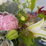 Peony Centerpiece | Wedding Flowers