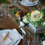 Sage & Cabbage Centerpiece