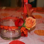 Centerpiece with Roses Event Flowers