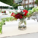 Dramatic Centerpiece Event Flowers