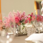 Pink Reception Flowers | Wedding Flowers