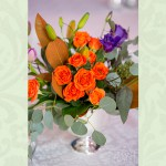 Wedding Flowers in Orange